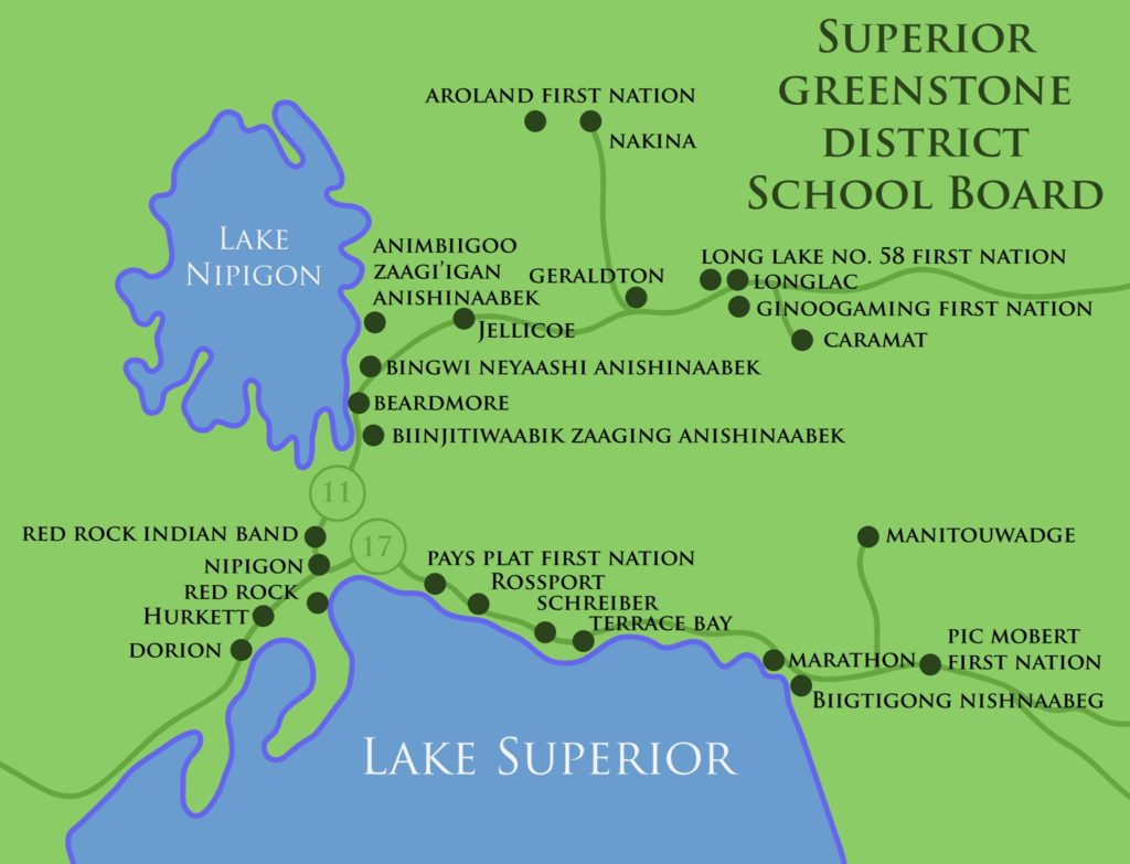 Image result for SGDSB First Nations map